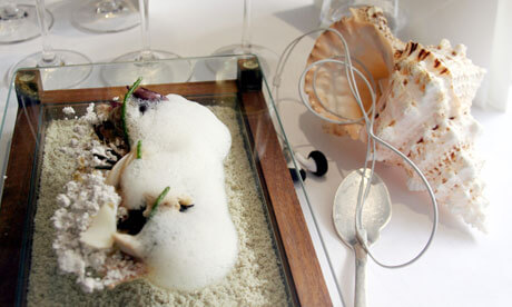 Sound of the Sea as served at the Fat Duck