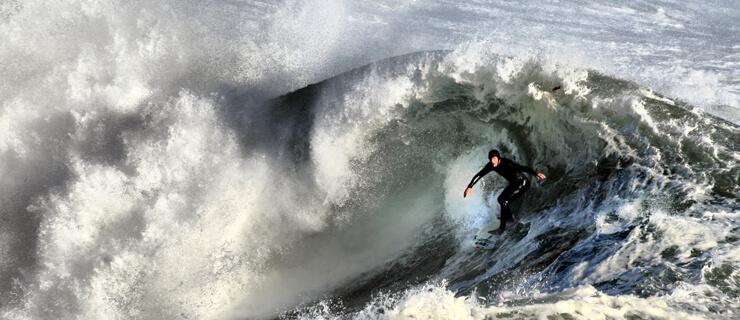 música surf