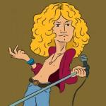 Robert Plant na escadaria para a imortalidade