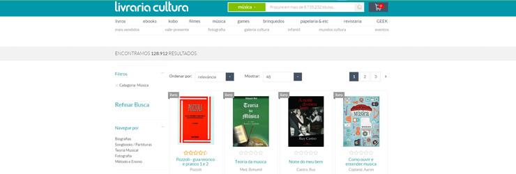 Secção de Livros sobre Cinema na Livraria da Cultura. Clique na imagem para entrar.