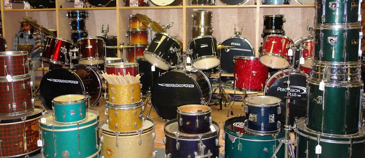 lojas de instrumentos musicais online