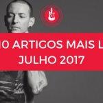 Top 10 de Artigos mais lidos no Mundo de Músicas Julho 2017