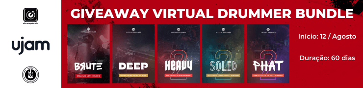 Giveaway Virtual Drummer